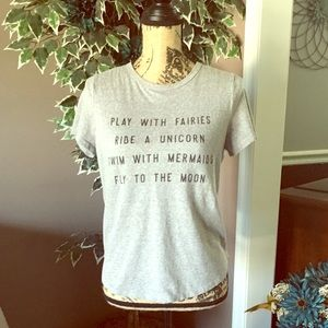 Play With Fairies... Graphic Tee